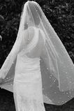 120CM perla nupcial velo accesorios de boda de velo corto
