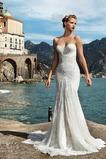 Vestido de novia Corte Sirena Encaje Encaje primavera largo Fuera de casa
