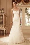 Vestido de novia Clasicos Natural Cremallera Encaje primavera Corte Recto