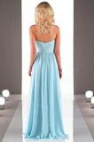 Vestido de dama de honor Otoño Asimètrico Gasa Plisado Natural Blusa plisada