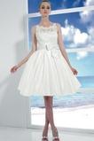 Vestido de novia Corte princesa Hinchado Reloj de Arena Natural Satén