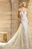 Vestido de novia Sala Moderno Escote Corazón Espalda Descubierta largo