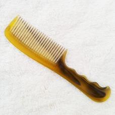 Venta caliente amarillo simple refinamiento plana peine tendón de ternera pequeño adorno