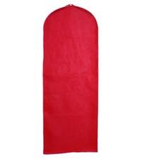 Boda vestido de guardapolvo rojo sólido a prueba de polvo cubierta guardapolvo
