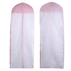 Polvo y no tejido de 155 cm sola cara vestido transparente tapa