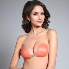 color de la piel Anti de realce de pecho vaciado reunidos Stealth Invisible bra