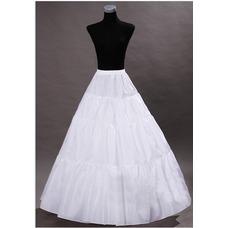 Vintage Vestido de boda estándar ancho elástico cintura boda enagua