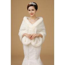 Chal de boda Fuera de casa Invierno Botón Formal