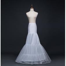 Boda vestido sirena corsé perímetro glamoroso spandex enaguas de boda