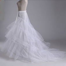 Enagua de la boda hilado doble de moda red fuerte de la sirena diámetro