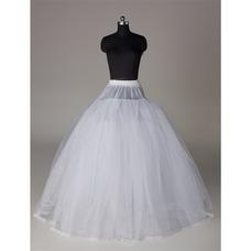 Enagua de la boda vestido de boda de la hilado doble sin marco elegante fuerte red