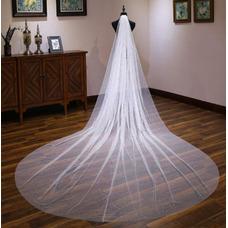 Velo brillante velo largo extra velo velo de novia de lujo 4M