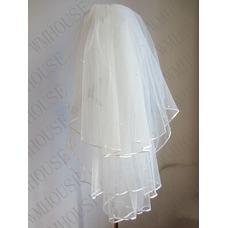 Velo de novia velo de novia esponjoso de 3 capas velo de novia velo corto