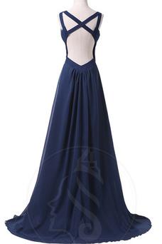 Vestido de noche Elegante Falta Verano Cola Barriba Frontal Dividida
