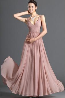 Vestido de noche Blusa plisada Plisado Cremallera Corte-A Sin mangas