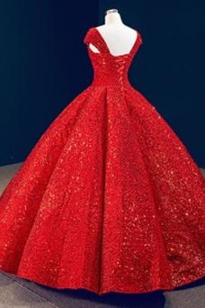 Vestido de fiesta Plisado Natural Cordón Estrellado Escote en V Colores