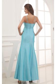 Vestido de noche Corte Sirena Cristal Falta Espalda Descubierta Sencillo