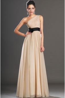 Vestido de noche Elegante Verano Natural Drapeado Sin mangas Espalda medio descubierto