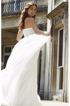 Vestido de novia Embarazadas Fuera de casa Sin tirantes Natural Encaje
