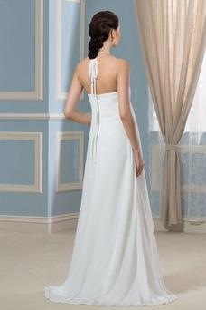 Vestido de novia Embarazadas Sencillo Espalda Descubierta Plisado Imperio Cintura