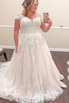 Vestido de novia vendimia Encaje largo Manga tapada Capa de encaje Encaje