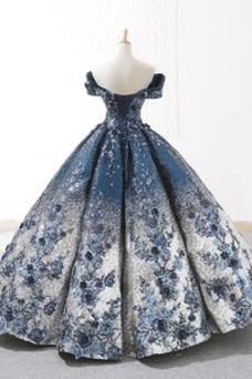 Vestido de fiesta Corte-A Corpiño Con lentejuelas Colores Hasta el suelo