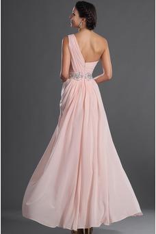 Vestido de fiesta Elegante Bebé rosa Verano Natural Gasa Sin mangas