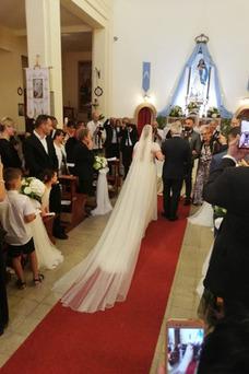 Vestido de novia Otoño Corte-A Encaje Hasta el suelo Playa Mangas Illusion
