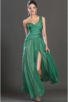 Vestido de fiesta Elegante Verano Sin mangas Corte Recto Cintura Baja