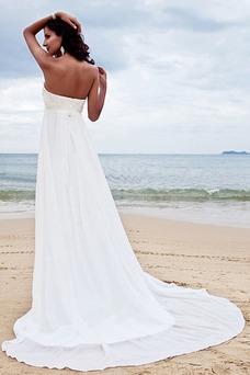 Vestido de novia Clasicos Imperio Cintura Espalda Descubierta Escote Corazón