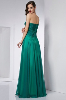 Vestido de fiesta Elegante Verano Un sólo hombro Cola Barriba Falta Espalda Descubierta
