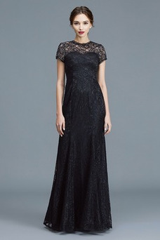 Vestido de madrina Falta Formal Recatada Natural Cremallera Corte-A