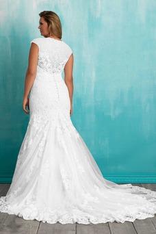 Vestido de novia Fuera de casa Otoño Natural Alto cubierto Sin mangas