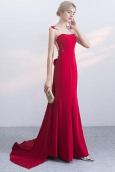 Vestido de noche primavera largo Cremallera Corte-A Natural Formal
