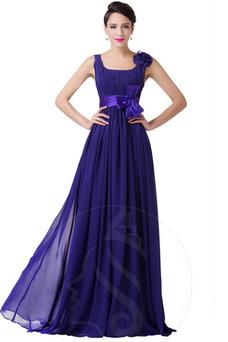 Vestido de noche Sin mangas Arco Acentuado Falta Corte-A Cremallera