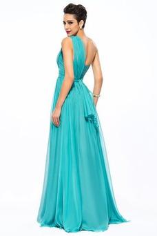 Vestido de noche Elegante Espalda medio descubierto Falta primavera