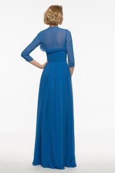 Vestido de madrina Blusa plisada Drapeado Sin tirantes Camiseta Gasa Otoño