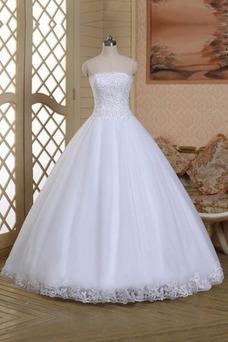 Vestido de novia Corte princesa Sin mangas Cordón Fuera de casa primavera