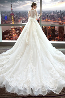 Vestido de novia Encaje Satén primavera Corte-A Formal Camiseta