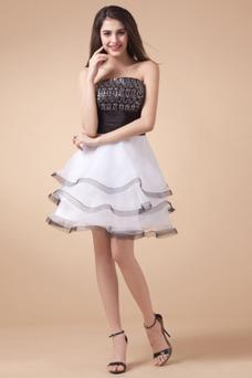 Vestido de noche Organza Verano Conjunto de 2 piezas Fajas Tallas pequeñas