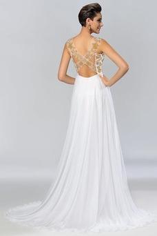 Vestido de noche Elegante Espalda Descubierta Reloj de Arena Imperio