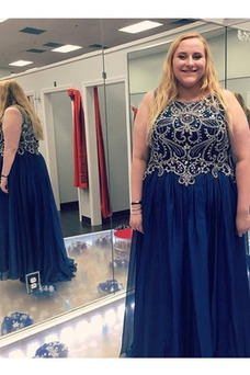 Vestido de fiesta Corte-A Escote redondo Drapeado Elegante Cremallera