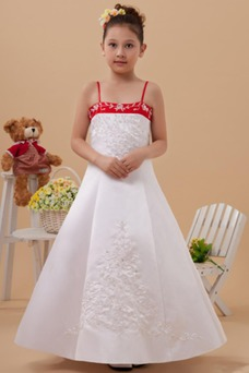 Vestido niña ceremonia Natural Marfil 14 Años de edad Sin mangas Corte-A Satén Elástico