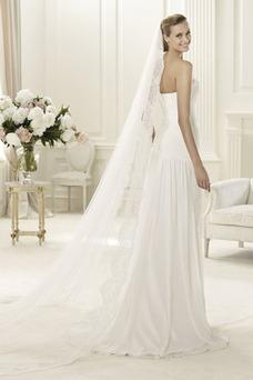 Vestido de novia Playa Apertura Frontal Espalda Descubierta Sencillo