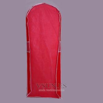 Boda vestido de guardapolvo rojo sólido a prueba de polvo cubierta guardapolvo - Página 2