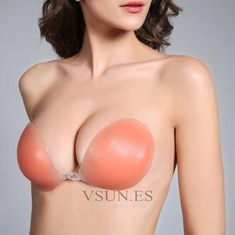 color de la piel Anti de realce de pecho vaciado reunidos Stealth Invisible bra - Página 2