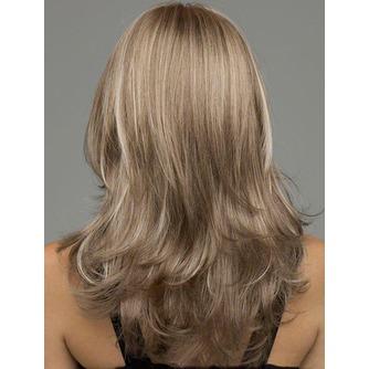 Rizado largo inclinado potro largo rizado adecuados para peluca de las mujeres - Página 3