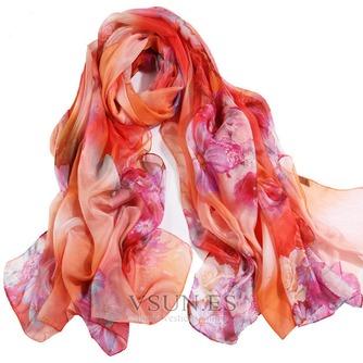 El nueva sombra protector solar impresión largo mantón de la bufanda - Página 8