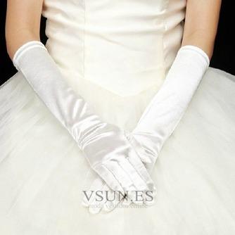 Guante de la boda Satén Elástico Otoño Formal - Página 1