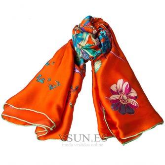 Comodín de moda bufanda de seda bufanda restaurar antiguos caminos - Página 4